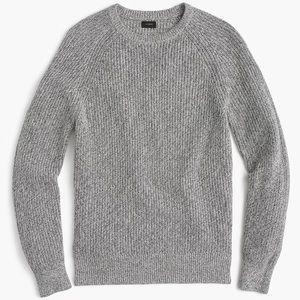 J.crew Marled Cotton Heater Sweater Medium